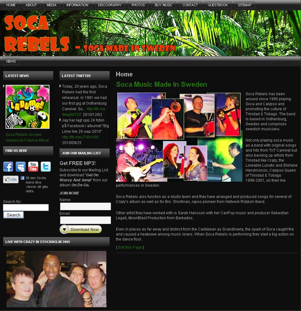 News | Soca Rebels